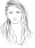 Beundra stock illustrationer