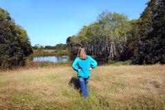 Beundra nordliga Louisiana Arkivfoto