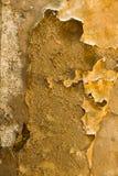 Beunruhigt, Wandpapier- und -gipshintergrund abziehend Stockbilder