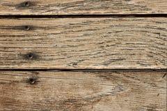 Beunruhigte horizontale hölzerne Planke verschalt Hintergrund Stockfotos