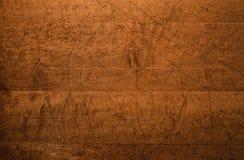 Beunruhigter hölzerner Tischplatte-Hintergrund Lizenzfreies Stockfoto