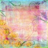 Beunruhigter Pastellhintergrund Lizenzfreie Stockbilder