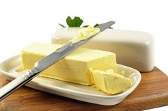 Beurre photos stock