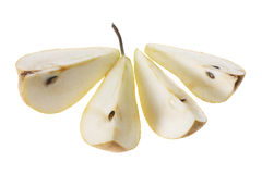 Beurre Bosc Pear Stock Image