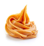 Beurre d'arachide image stock