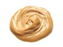 Beurre d'arachide crémeux photos libres de droits
