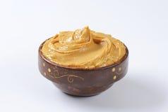 Beurre d'arachide crémeux photographie stock