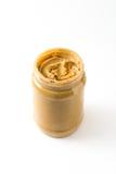 Beurre d'arachide crémeux photographie stock libre de droits