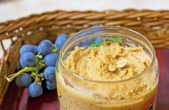 Beurre d'arachide fait maison Images libres de droits