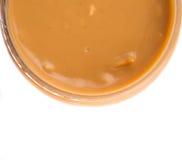 Beurre d'arachide V Photos stock