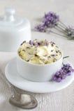 Beurre de lavande images stock