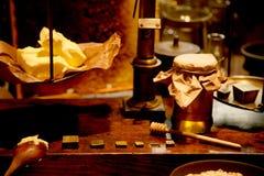 Beurre de miel photos libres de droits