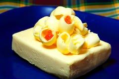 Beurre et caviar image libre de droits
