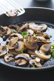 Beurre Fried Mushrooms Image stock