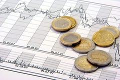 Beurs en geld Royalty-vrije Stock Afbeeldingen