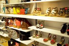 Beurzen en schoenen stock foto's