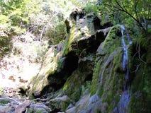 BeusniÅ£a, de meest spectaculaire waterval in Roemenië royalty-vrije stock foto