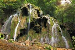 beusnita罗马尼亚瀑布瀑布 图库摄影