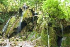 Beusnita-Wasserfall Karpaten-Berge, Rumänien Lizenzfreies Stockfoto