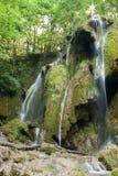 Beusnita-Wasserfall Karpaten-Berge, Rumänien Lizenzfreie Stockbilder