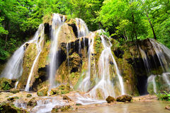 Beusnita waterfall Stock Images
