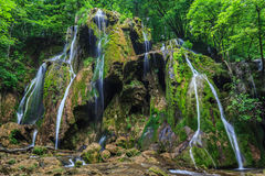 Beusnita waterfall Royalty Free Stock Photos