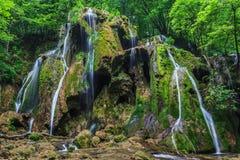 Beusnita waterfall royalty free stock photos