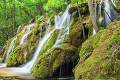 Beusnita Waterfall, Romania Royalty Free Stock Photos