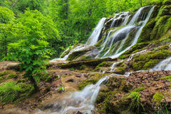Beusnita Waterfall, Romania Royalty Free Stock Images