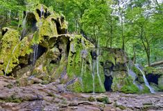 Beusnita waterfall Romania Royalty Free Stock Images
