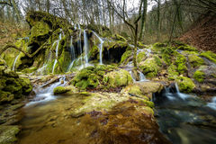 Beusnita waterfall. Is a very beautiful waterscape from the south-west part of Romania Stock Photography