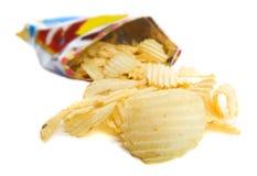 Beutel der Chips lizenzfreies stockbild