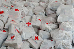 Beutel des roten Kreuzes Lizenzfreie Stockfotografie