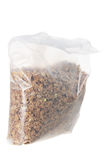 Beutel von Frühstückskost aus Getreide Stockbilder