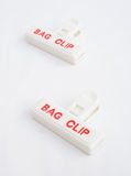 Beutelclips. Stockfotos