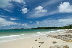 Beutiful beach stock photo