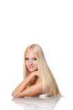 Beutiful Blond Woman Royalty Free Stock Images
