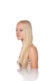 Beutiful blond woman Stock Image