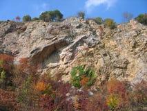 Beutiful colors. Beautiful place on Fruska Gora mountain in Serbia Royalty Free Stock Photo