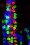 Beutiful defocused bokeh lights. Background Stock Photos