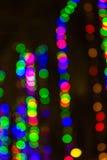 Beutiful defocused bokeh lights. Background Stock Photo