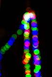 Beutiful defocused bokeh lights. Background Stock Images