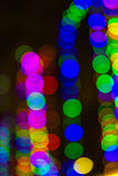 Beutiful defocused bokeh lights Royalty Free Stock Photography