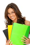 Beutiful female student Royalty Free Stock Images