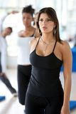 Beutiful gym woman Royalty Free Stock Photos