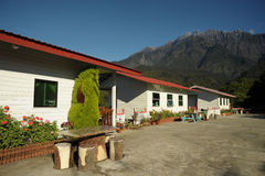 Beutiful home near Kinabalu Mountain, Malaysia Stock Images