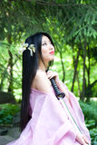 Beutiful japanese woman Royalty Free Stock Images