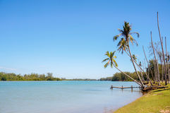 Beutiful landscape and traditional jetty Stock Photos