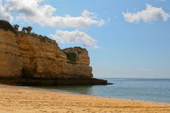 Beutiful Portuguese Algarve beach Stock Photo
