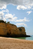 Beutiful Portuguese Algarve beach Royalty Free Stock Photos